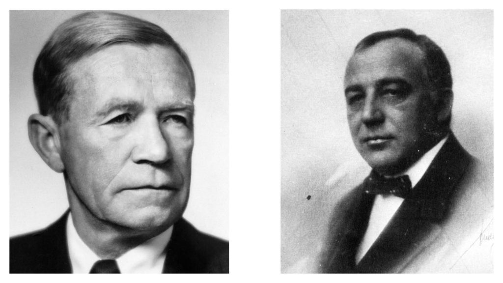 Bjarne Steisvik och Cornelius Bull